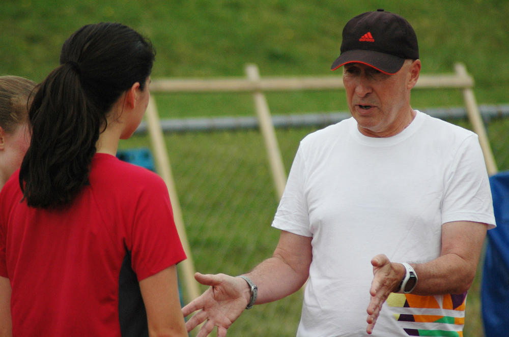 Graeme Holden coaching